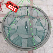 High Quality 8 Import 70cm  Crab Eel Portable Foldable Fishing Trap Cast Net