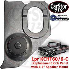 "Custom Autosound KCHT 60/6-c Kickpanel/6.5"" Speaker 60-66 Chevy/GMC Pickup Truck"