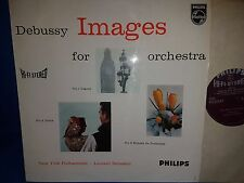 PHILIPS HI-FI STEREO SABL 171 *BERNSTEIN* DEBUSSY IMAGES FOR ORCHESTRA* NYPO* NM