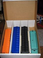 Toy Train Storage Box - 4 Pack - 027 Passenger Cars + Rolling Stock -