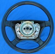 1996-1999 MERCEDES W140 S320 S420 S500 S600 BLUE LEATHER STEERING WHEEL
