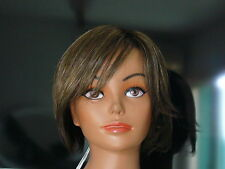 NWT WIG AMORE BY RENE OF PARIS%100 HAND TIED,MONOFILAMENT TOP,LACE FRONT,SHORT