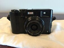 Fujifilm X Series X100T 16.3 MP Digital Camera - Black