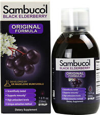 Sambucol Black Elderberry Liquid Original Food Supplement 120ml