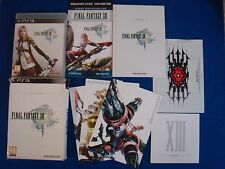 ps3 FINAL FANTASY XIII *x 13 Limited Collectors Edition Playstation PAL