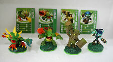 Skylanders Spyro's Adventure-Life Element Set-Camo-Zook-Stealth Elf-Stump Smash
