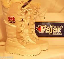 LADIES PAJAR GREENLAND WATERPROOF THERMAL BOOTS WHITE UK SIZE 4 euro 37