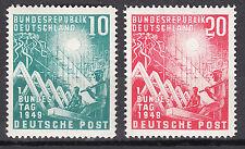 BRD 1949 Mi. Nr. 111-112 Postfrisch LUXUS!!!