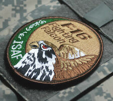KANDAHAR POLO CLUB PRO-MEMBER RNLAF 322nd Sqn Polly Parrot F-16 νeΙcrο Insignia