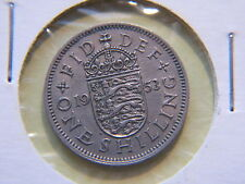 1953 One Shilling, Great Britain , Uk
