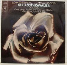 """STRAUSS BERNSTEIN DER ROSENKAVALIER LUDWIG JONES POPP BERRY 12"""" LP (j355)"""