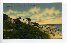 Cape Cod Harwichport Harwich MA Mass End of Grey Road, cottages, 1940, linen