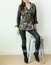 Women's 36 Point 5 Vintage Camouflage Army Coat Jackets SZ-L aceofspadescouture