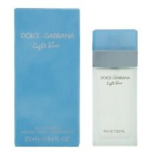 DOLCE & GABBANA LIGHT BLUE FOR WOMEN 25ML EDT SPRAY BRAND NEW & SEALED