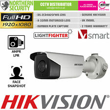 HIKVISION ANPR LPR Smart Network IP Camera 8-32MM 1080P@ 60/FPS POE MOTORISED
