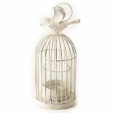 Heaven Sends Hanging Birdcage Candle Tea Light Holder Shabby Chic Free Tealight