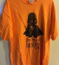 2008 Star Wars Baby Darth Vader Future Sith - T Shirt XL
