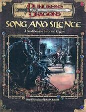 Song and Silence: A Guidebook to Bards and Rogues (Dungeon & Dragons d20 3.0 Fan