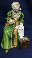 Royal Doulton Figura Rey Enrique esposa Ana de Cleves V111 HN3356 Ltd Edt
