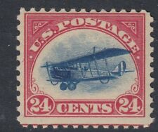 UNITED STATES OF AMERICA : 1918 AIRMAIL 24c blue and carmine  Scott #C3 MNH