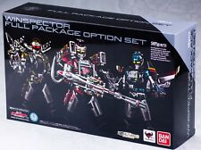 【Tamashii Exclusive】BANDAI S.H.Figuarts Winspector Full package Option set NEW