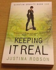 KEEPING IT REAL Justina Robson Book (Quantum Gravity Book One) Paperback