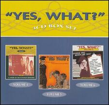 YES WHAT? (6 CD) Vols 4 - 6 ~ VINTAGE AUSTRALIAN RADIO COMEDY ~ 50's *NEW*