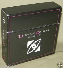 DURAN DURAN - The Singles 81 - 85 (13 Disc Box Set) 2003 Made In Holland EX Cond