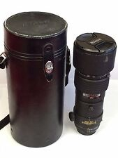 Nikon NIKKOR AF 300mm f/4 ED IF Lens, good used condition, with hard case