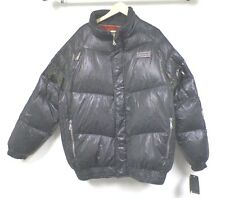 MEN'S CROWN HOLDER BLACK DOWN PUFFY JACKET SIZE 2X NWT $255.00