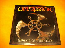 Cardsleeve Full CD OPPRESSOR Elements Of Corrosion PROMO 9TR 1998 death metal