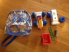 Chicco Hobby Work Kit Backpack Friction Vehicle Building Toy Car Parts