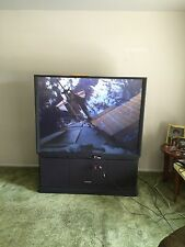 "Hitachi Ultravision 60"" Rear Projection TV"