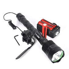 TrustFire Tactical 3800Lm 3x XML T6 LED Flashlight Hunt 18650 Torch Light Rifle