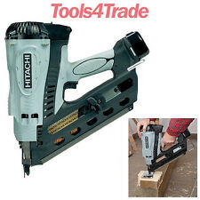 Hitachi NR90GC2 1st Fix Gas Clipped Head Strip Framing Nailer - Range 50 - 90mm