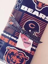 Burp Cloth Cloths Burp Rag Chicago Bears NFL Football Boy Girl Infant Style 2