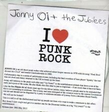 (DA835) Jonny Oi & The Jubilees, I Love Punk Rock - 2012 DJ CD