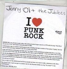 (DA835) Jonny Oi & The Jubilees, I Love Punk Rock - 2012 DJ CD