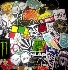 10 Snowboard Decal Stickers Pack Lot Obey Own The Avenue Nixon Neff