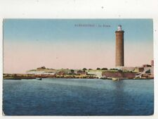 Alexandria Phare Lighthouse Egypt Vintage Postcard 335b