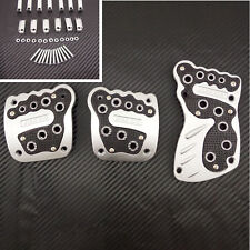 3 pcs Nonslip REPLACEMENT NEW FOOT REPLACEMENT PEDAL COVER PAD ROVER CARS PAIR