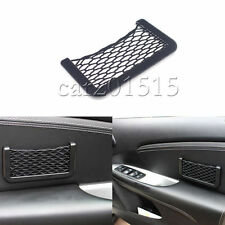 Car Mesh Net Resilient Phone Storage Net String Bag Phone Holder Ticket Pocket
