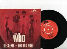 THE WHO 7'' PS Seeker SWEDEN POLYDOR 2121 001 RARE NICE MOD COVER Swedish 45