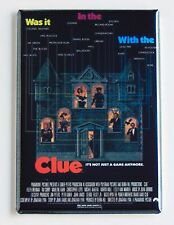 Clue FRIDGE MAGNET (2.5 x 3.5 inches) movie poster tim curry board game