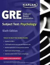 Kaplan Test Prep: GRE Subject Test: Psychology by Kaplan (2016, Paperback)