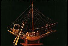CPM EGYPTE Modele de barque en bois point. Tutankhamen's Treasures (343703)