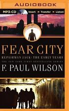 Repairman Jack Early Years Trilogy: Fear City 3 by F. Paul Wilson (2015, MP3...