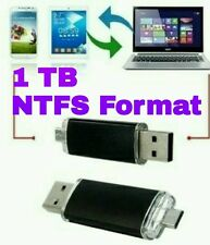1 TB Dual Flash Drive / Pen Android Memory Stick Storage USB NEW & SEALED NTSF