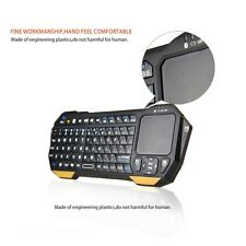 Wireless Mini Bluetooth Keyboard With Touchpad For Windows Android iOS PC New