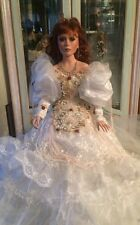 "A Rare 26"" Rustie Porcelain Bride? Doll by Rustie With Mbi Mark"